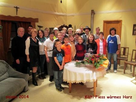 Saison 2014 Kàlti Fiess wàrmes Harz
