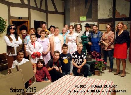 Saison 2015 Fussi Kumm Zuruck