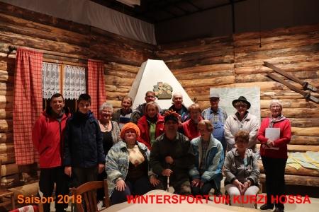 saison 2018 WINTERSPORT UN KURTZI HOSSA